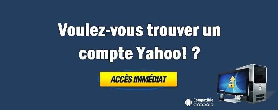 Trouver tous les mots de passe Yahoo